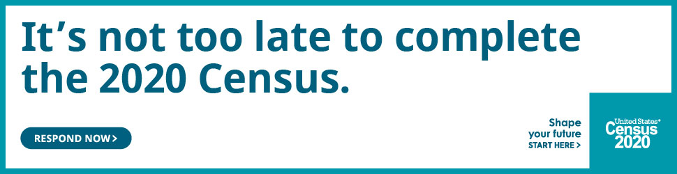 It's not too late to complete the 2020 Census.